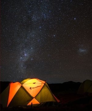 Planer Kilimandscharo Milchstrasse