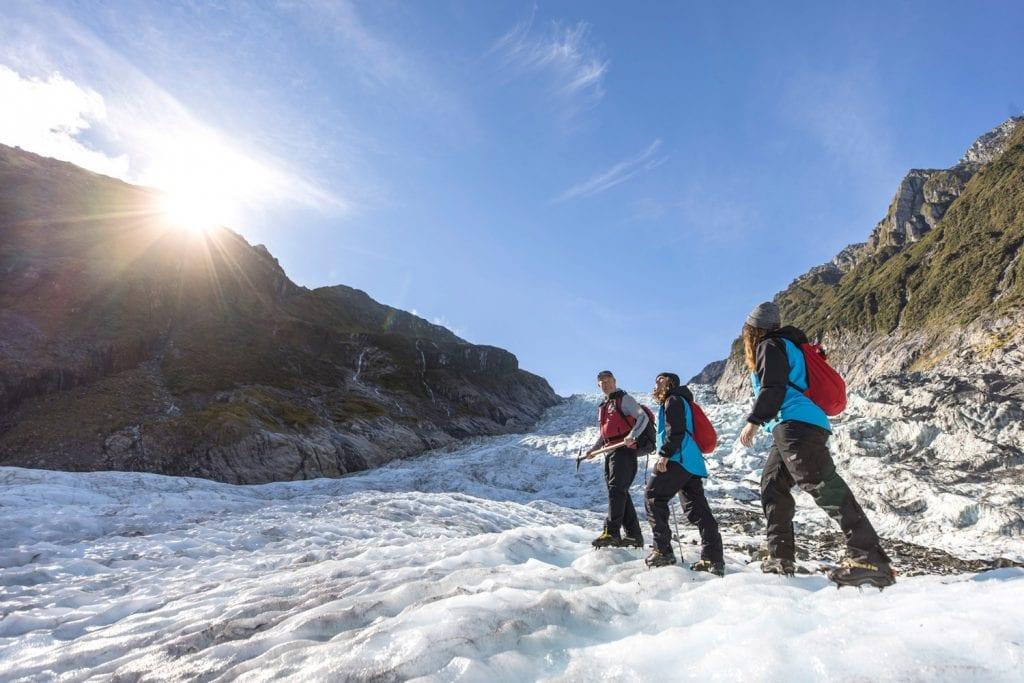 Gletschertour auf dem Fox Glacier in Neuseeland
