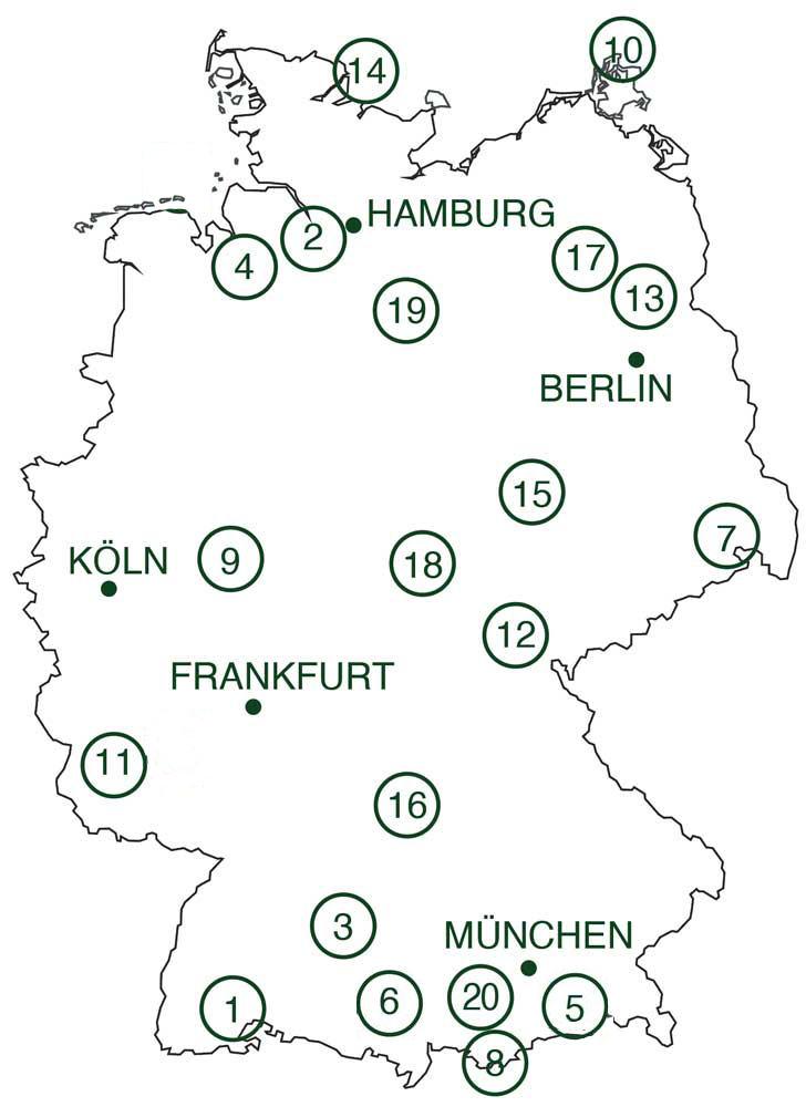 Deutschlands schönste Natur-Campingplätze