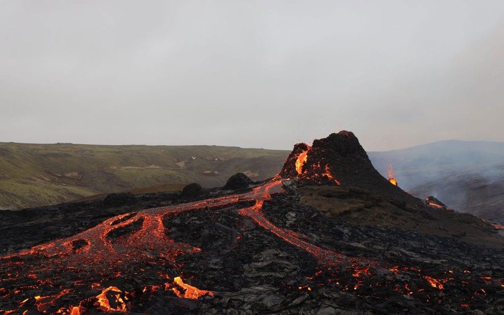 Island Rundreise Vulkan