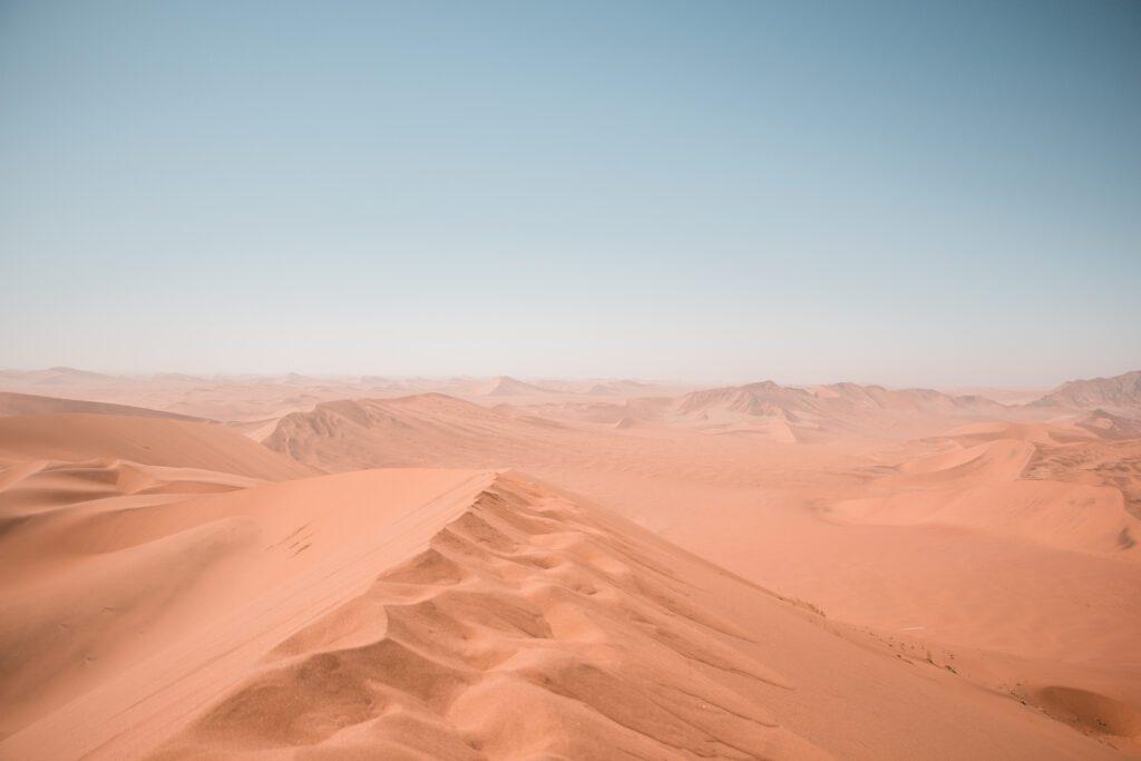 Dünen der Namib Wüste
