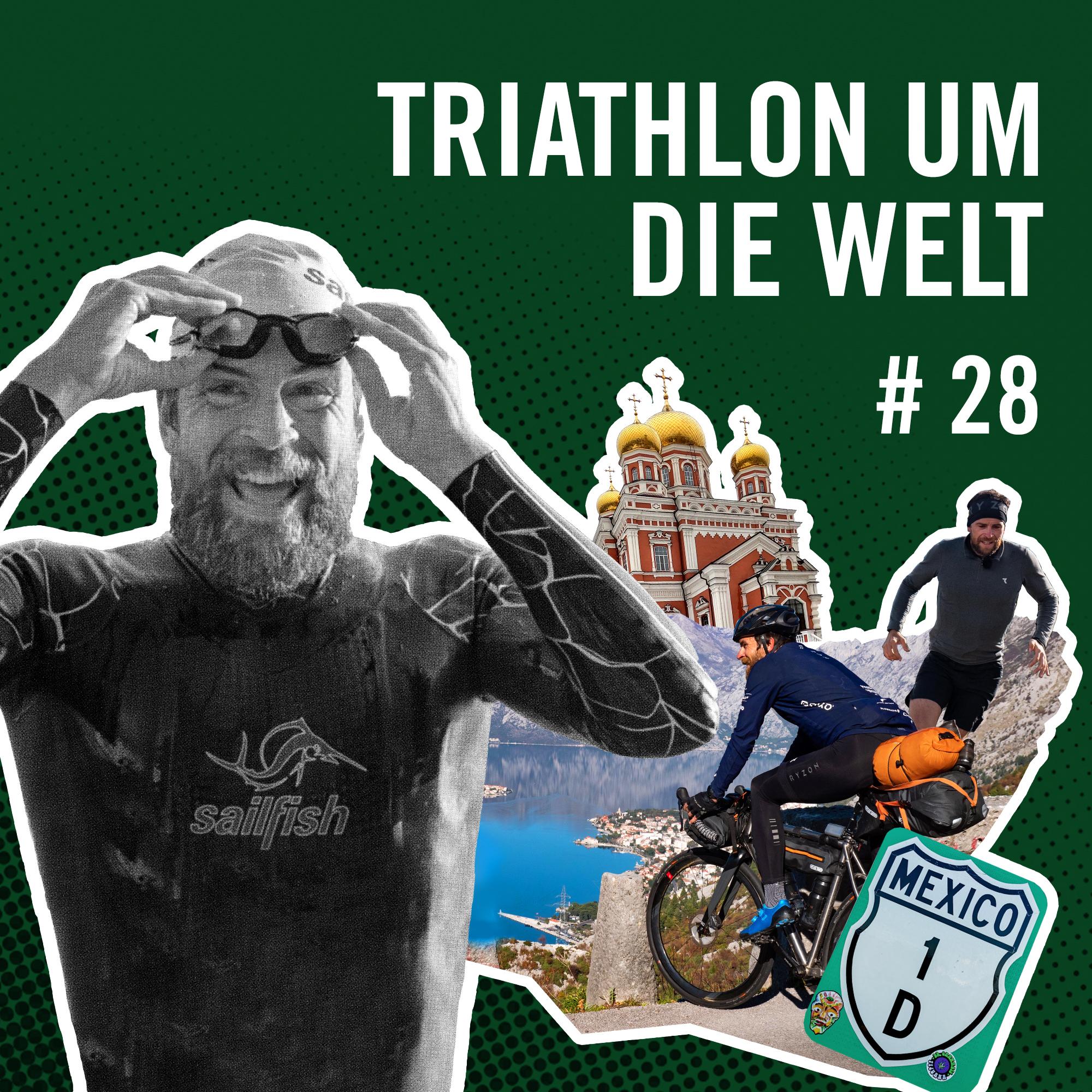 Cover Rausgehört Triathlon um die Welt