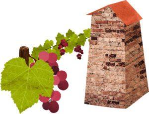 Reiseplaner Georgien Wein und Turm