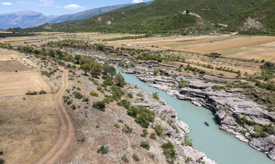 Albanien: Paddeln auf der Vjosa