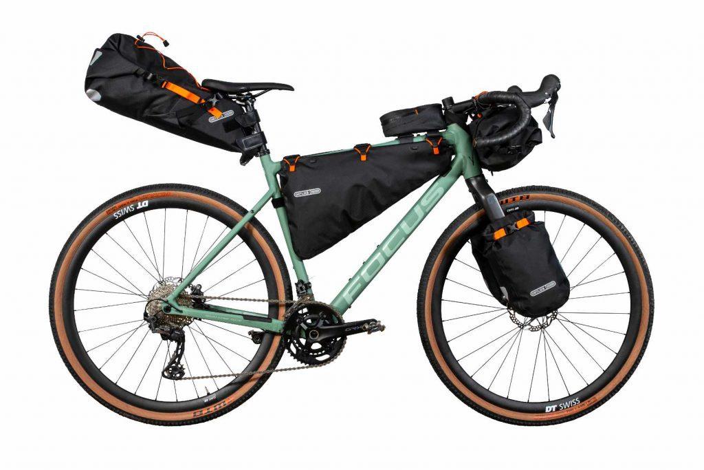 Bikepacking Fahrrad mit Ortlieb