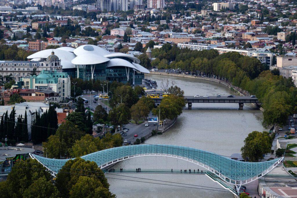 Friedewnsbrücke Tiflis