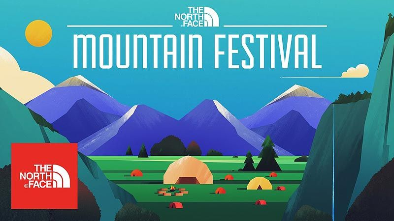 The North Face  MountainFestival 2017 Are you ready to leave normal behind  and take your senses on an outdoor adventure  19169faa6e